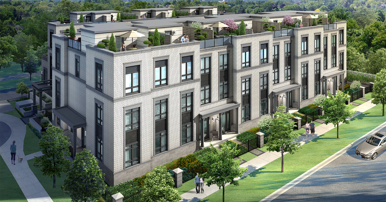 Kenneth Amp Holmes Urban Townhomes Urban Living In The