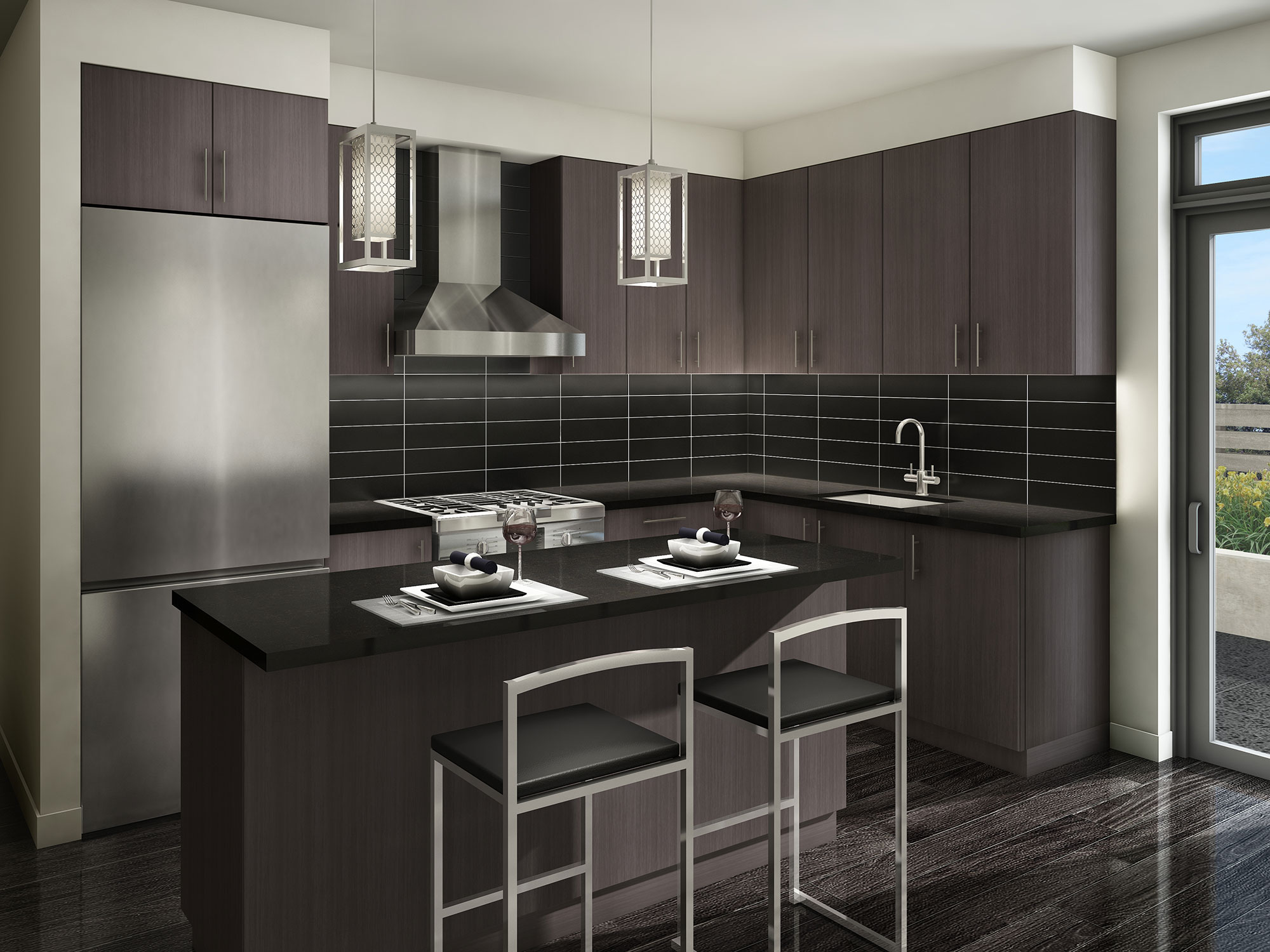 Kenneth Holmes Urban Townhomes Features Finishes 2 Storey Residential Electrical Plan 1